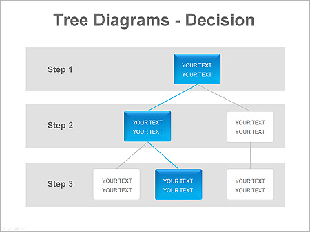 Tree Decision PPT Diagrams & Chart - Slide 7