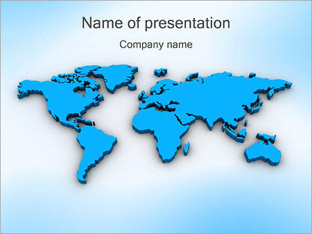 World Map Powerpoint Template Backgrounds Google Slides Id