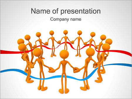 People Together Powerpoint Template Infographics Slides