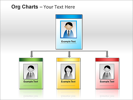 Org Chart PPT Diagrams & Chart