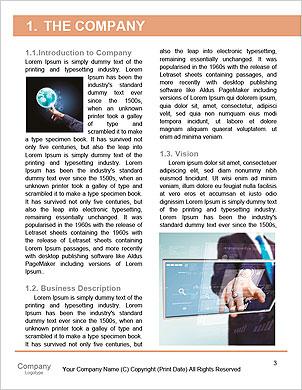 商务人士工作的电脑对技术背景 语言模板 - 页面 3
