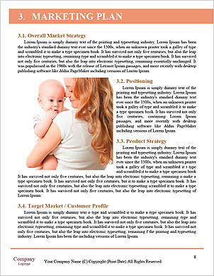 Young mother hugging baby Word Template - Page 8