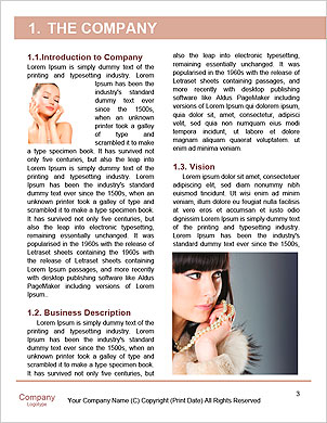 Skincare woman hand touch face with smile , water drop background, concept for cosmetic, beauty hygi Word Template - Page 3