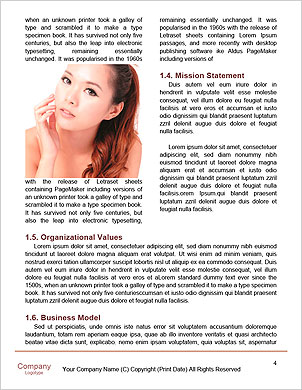 Skincare woman hand touch face with smile , water drop background, concept for cosmetic, beauty hygi Word Template - Page 4
