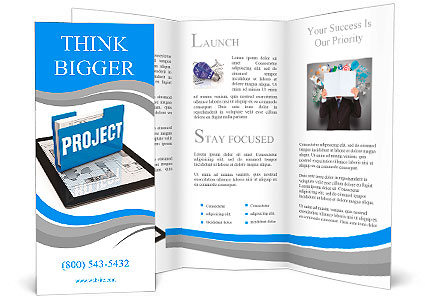 Business project concept Brochure Template