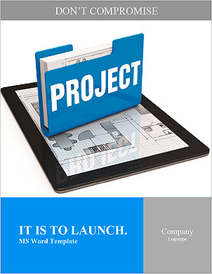 Business project concept Word Template - Page 1