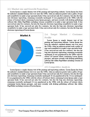 Business project concept Word Template - Page 7