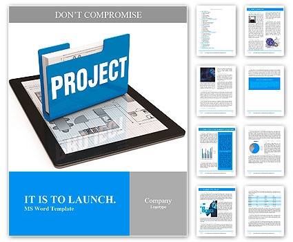 Business project concept Word Template
