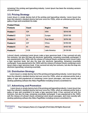 Rear view of architect looking comparing housing project with building Word Template - Page 9