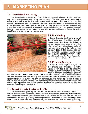 Harvesting machine Word Template - Page 8