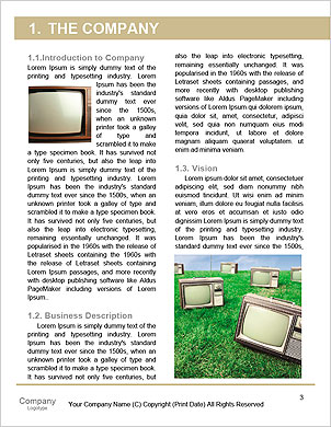 Vintage TV set isolated. Clipping path included. Word Template - Page 3