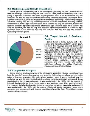 Social network structure Word Template - Page 7