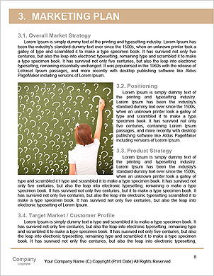 Child climbing stairs Word Template - Page 8