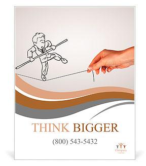 鉛筆はinbusinessのリスクと課題のillustraionとして描く ポスター