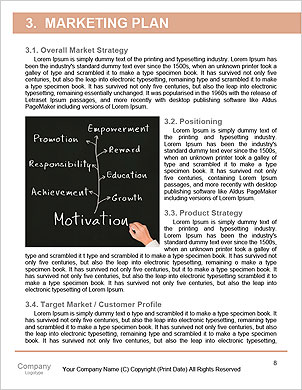 Personnel manager hand writing human resource management concept for developing skill, ability, pote Word Template - Page 8