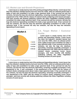 Enterprise HR manager drawing a company human resources business plan Word Template - Page 7