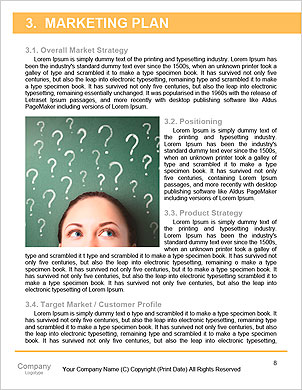 Enterprise HR manager drawing a company human resources business plan Word Template - Page 8