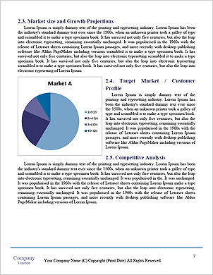 Businessman hand working with new modern computer and business strategy as concept Word Template - Page 7