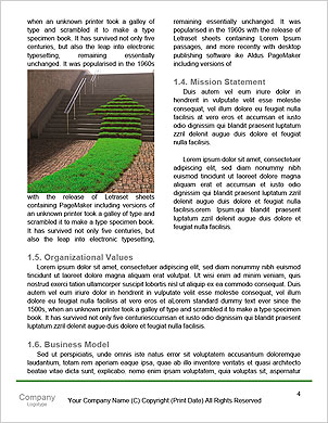 Conceptual miniature planet for environmental change and green energy transportation isolated and wi Word Template - Page 4