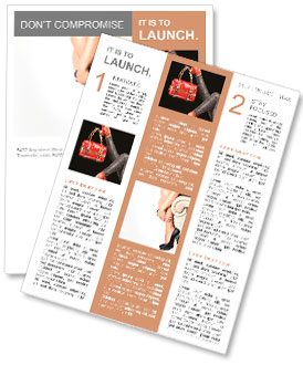 女性の脚とハイヒールの靴 ニュースレター