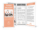Employees with special skills wanted concept - the juggler Brochure Template