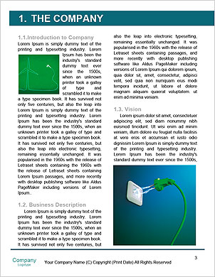 Pollution smoke going out a plug - Pollution/Ecology Concept Word Template - Page 3