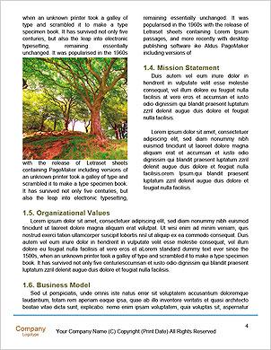 热爱大自然,女人拥抱大树树干 语言模板 - 页面 4