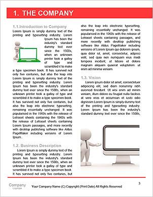 3d person och en bärbar dator på ett kontor. Affärspartners. 3d illustration Lexikala mallar - Sida 3