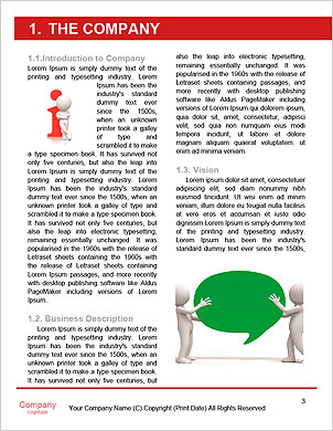 Arrow/think/choose/ a man thinking during four arrows Word Template - Page 3