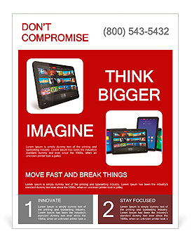 Tablet PC Flyer Template