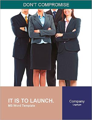 ビジネスの人々のグループ。ビジネスチーム。 辞書のテンプレート - ページ 1