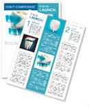 Защита Зубы 3d концепции Новостные рассылки