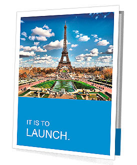Eiffel tower Presentation Folder