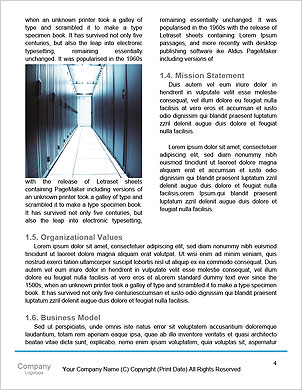 Programmer and icon control the system in data center room Word Template - Page 4