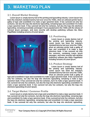 Programmer and icon control the system in data center room Word Template - Page 8