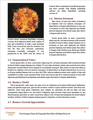 Eruption Word Template - Page 4