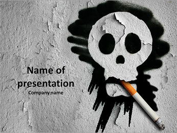 Lung - PowerPoint Template - SmileTemplates com