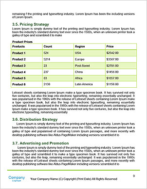 The concept of a green car of the future Word Template - Page 9