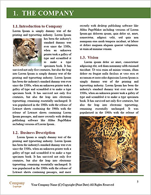 Anger Leopard Word Template - Page 3