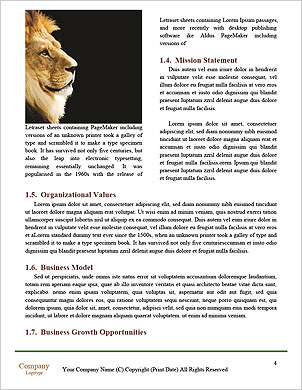 Anger Leopard Word Template - Page 4