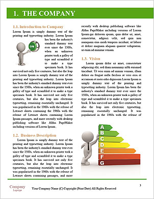 Green flooring in the house Word Template - Page 3
