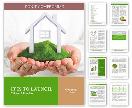 Green flooring in the house Word Template