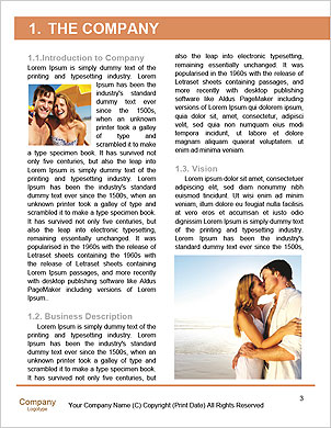 Happy couple on the beach Word Template - Page 3