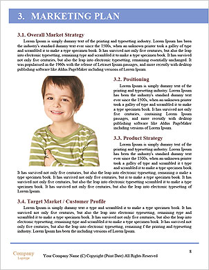 A little boy holding a piece of candy Word Template - Page 8