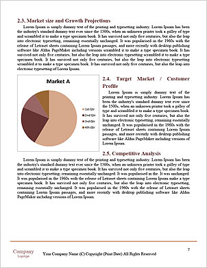 Beautiful model posing Word Template - Page 7