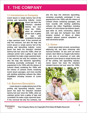 Happy couple in love Word Template - Page 3