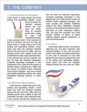 Dentist tools Word Template - Page 3
