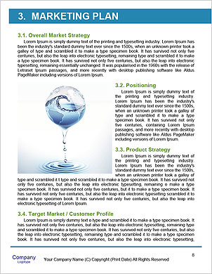 The concept of a green planet preserve nature Word Template - Page 8