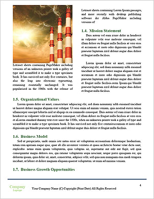 Environmental pollution petrochemical products Word Template - Page 4