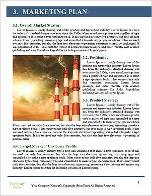 Environmental pollution petrochemical products Word Template - Page 8